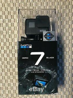 GoPro Hero 7 Black+2 extra Batteries+Battery Charger+3-Way Camera mount