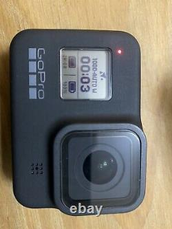Go Pro Hero 8 Black Camera, Huge Bundle, Spare Batteries Charger & Micro Sd Card