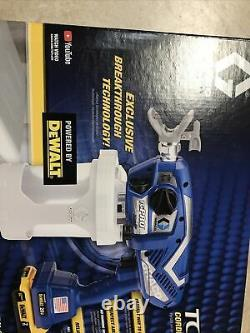 Graco 17N166 TC Pro 20v Airless Cordless Sprayer with2 Dewalt Batteries & Charger