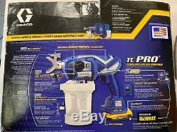 Graco TC Pro Cordless Airless Handheld Paint Sprayer 17N166 2 Batteries/Charger