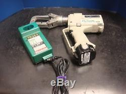 Greenlee Eccx Gator Pro 6 Ton Cordless Hydraulic Crimper Set Battery Charger
