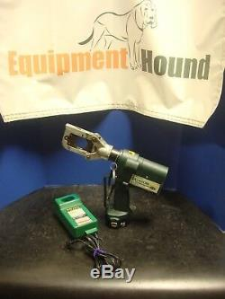 Greenlee Eccx Gator Pro 6 Ton Cordless Hydraulic Cutter Set 12v Battery Charger