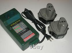 Greenlee Gator Pro ECCX with TWO NEW batteries & Makita DC1411 Charger