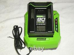 Greenworks PRO 80 Volt Max Lithium-Ion Battery & Charger 2901402 / 2901302