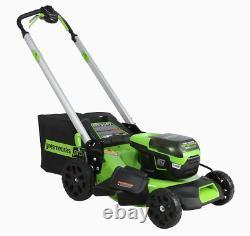 Greenworks Pro 60V Li-ion Self-Propelled 21 Cordless Lawn Mower MO60L514