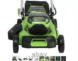Greenworks Pro 60-V Max Lit Ion Self-Prop 21-in Cordless Lawn Mower (tool only)