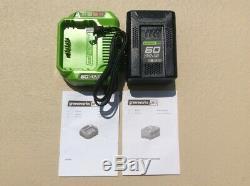 Greenworks Pro 60v Battery & Charger