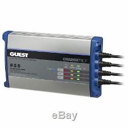 Guest 2713A Charge Pro Battery Charger 15 Amp 12/24/36 Volt Ouput 3 Bank (5/5/5)