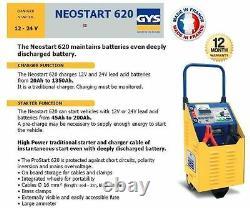 Gys Neostart 620 12 24 Volt Professional Battery Starter + Charger 620 Amp
