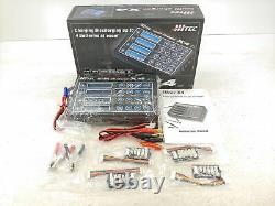 HITEC X4 Professional Four-Channel Multi Charger DC ONLY RC Battery LiPo NEW