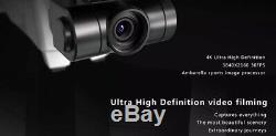 HUBSAN ZINO FOLDING DRONE 4K WithEXTRA BATTERY, CHARGER, PROPELLERS AND CARRY B