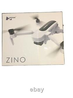 HUBSAN ZINO FOLDING DRONE 4K withBATTERY, CHARGER, PROPELLERS AND CARRY BAG