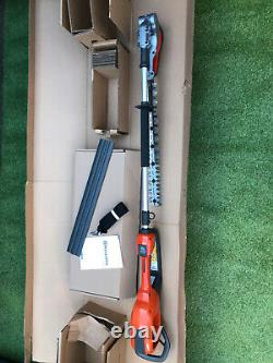 Husqvarna 520iHE3 Pole Pro Cordless Hedge Trimmer Battery & Charger