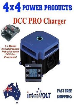 INTERVOLT DCC Pro INTEGRATED BATT MONITOR DCDC BATTERY CHARGER Australian Made
