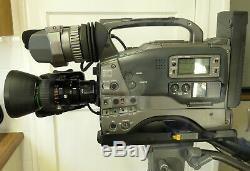 JVC GY-DV500 Mini DV Camcorder 2 Batteries, Charger & 2 Tipod Mounting Plates