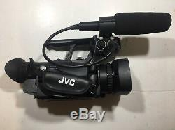 JVC GY-HM150E HD Camcorder Inc 3 Batteries, Charger, Mains adapter and Bag