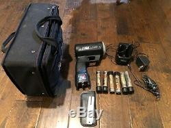Jugs Professional Sports Radar Gun, With case, charger, batteries, tuning fork