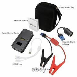 Jump Starter Car Battery Booster 20000mAh 12V 1500A Portable Power Bank Charger