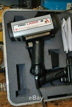 Kustom Signals Pro-Laser III Police Lidar/Laser with Case Battery Charger