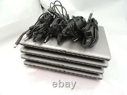 Lot of 4 HP 6555B Laptop / AMD 2.1GHZ / 2GB DDR3 / 160GB Battery & Charger