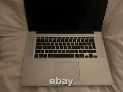 Macbook Pro 2015 2.8ghz 16gb 1tb new screen, topcase, battery 2 chargers 2gb GPU