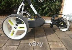 Motocaddy M1 Pro Electric Golf Trolley 18 Hole Lead Acid Battery + Charger