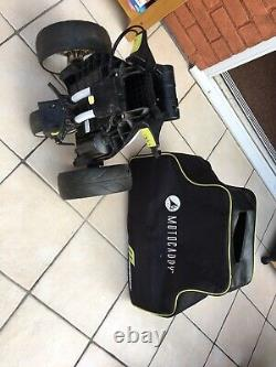 Motocaddy M1 Pro Electric Golf Trolley + Storage/Travel Bag, Battery & Charger