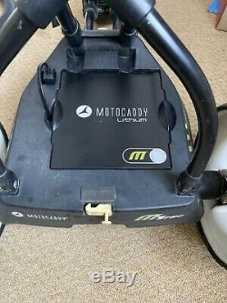 Motocaddy M1 Pro Electric Golf Trolley Used & New Boxed Lithium Battery/Charger