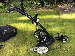 Motocaddy M3 Pro Electric Golf Trolley Ultra (36 Hole) Lithium Battery & Charger