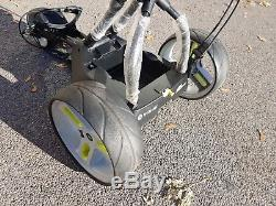 Motocaddy M3 Pro Golf Trolley With charger & 18 Hole Lithium Battery