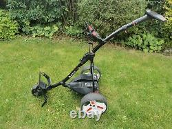 Motocaddy S1 PRO Electric Golf Trolley, 18 Hole Lithium Battery, charger, decent