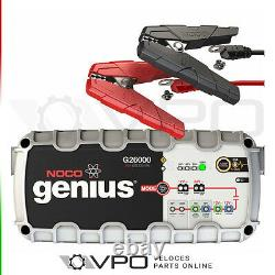 NOCO GENIUS G26000UK PRO SERIES SMART CAR BATTERY CHARGER With JUMP START ENGINE
