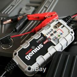NOCO Genius G15000 12V/24V 15A Pro Series UltraSafe Smart Battery CHARGER AGM