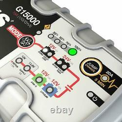 NOCO Genius G15000 UK 12V / 24V 15A UltraSafe Pro Series Smart Battery Charger