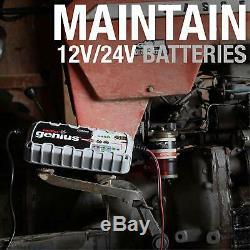NOCO Genius G26000EU 12V/24V 26 Amp Pro-Series Battery Charger and Maintainer EU