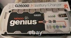 NOCO Genius (G26000UK) 12V/24V/26Amp Pro-Series Smart Battery Charger (RRP £195)