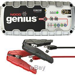 NOCO Genius G26000 12V 24V 26A UltraSafe Professional Battery Charger UK PLUG