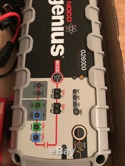 NOCO Genius G26000 UK 12V / 24V 26A UltraSafe Pro Smart Battery Charger 2/1