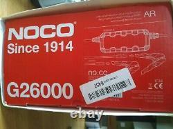NOCO Genius G26000 UK 12V 24V 26 Amp Pro-Series Smart Battery Charger