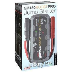 NOCO Genius GB150 Boost PRO UltraSafe Lithium Jump Starter 4000A