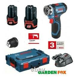 New Bosch GSR12V-15 FC PRO Drill/Driver Combo Unit 06019F6071 3165140847735