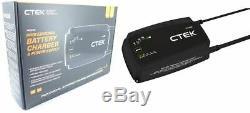 New CTEK PRO25S 12V Vehicle Battery Maintenance Charger Lithium-Ion (LiFePO4)