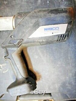 Nibco PC-280 Cordless Pro-press Hydraulic Pressing Tool Battery, Charger & Case