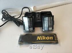 Nikon D3 12.1MP Dig SLR Camera Body Full Frame Pro 9FPS inc Charger Batteries