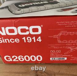 Noco Genius Battery Charger G26000uk 12v/24v Pro Lithium Compatible
