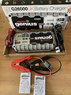 Noco Genius Battery Charger G26000uk 26a 12v/24v Pro Series Lithium Compatible