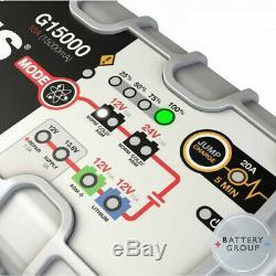 Noco Genius G15000 EU 12/24V 15A Ultra Safe Pro Series Smart Battery Charger