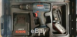 Ordless Combi Bosch GSB 14.4-2-LI Professional with 4x batteries charger L-case
