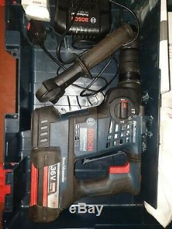 Original Bosch Professional Hammer Drill 36V Battery Charger GBH 36VF-Li Plus