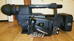 Panasonic AGHVX200 3CCD Camcorder 14 miniDV Tape Hour, P2 HD Card Video Camera